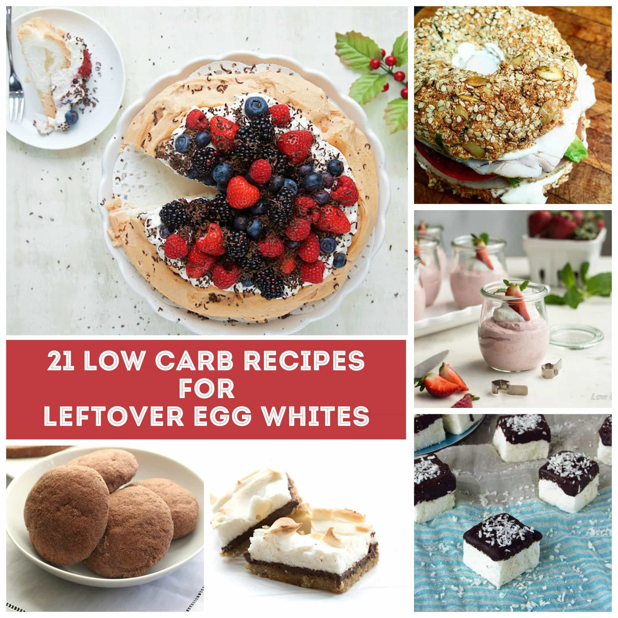 21 Low Carb Recipes For Leftover Egg Whites With Images Leftover Egg Whites Egg White Recipes Leftover Eggs