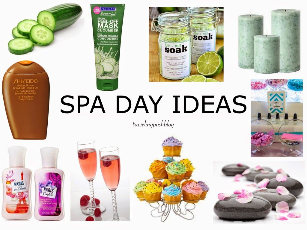 Traveling Posh Ideas For A Relaxing Spa Day At Home Decor