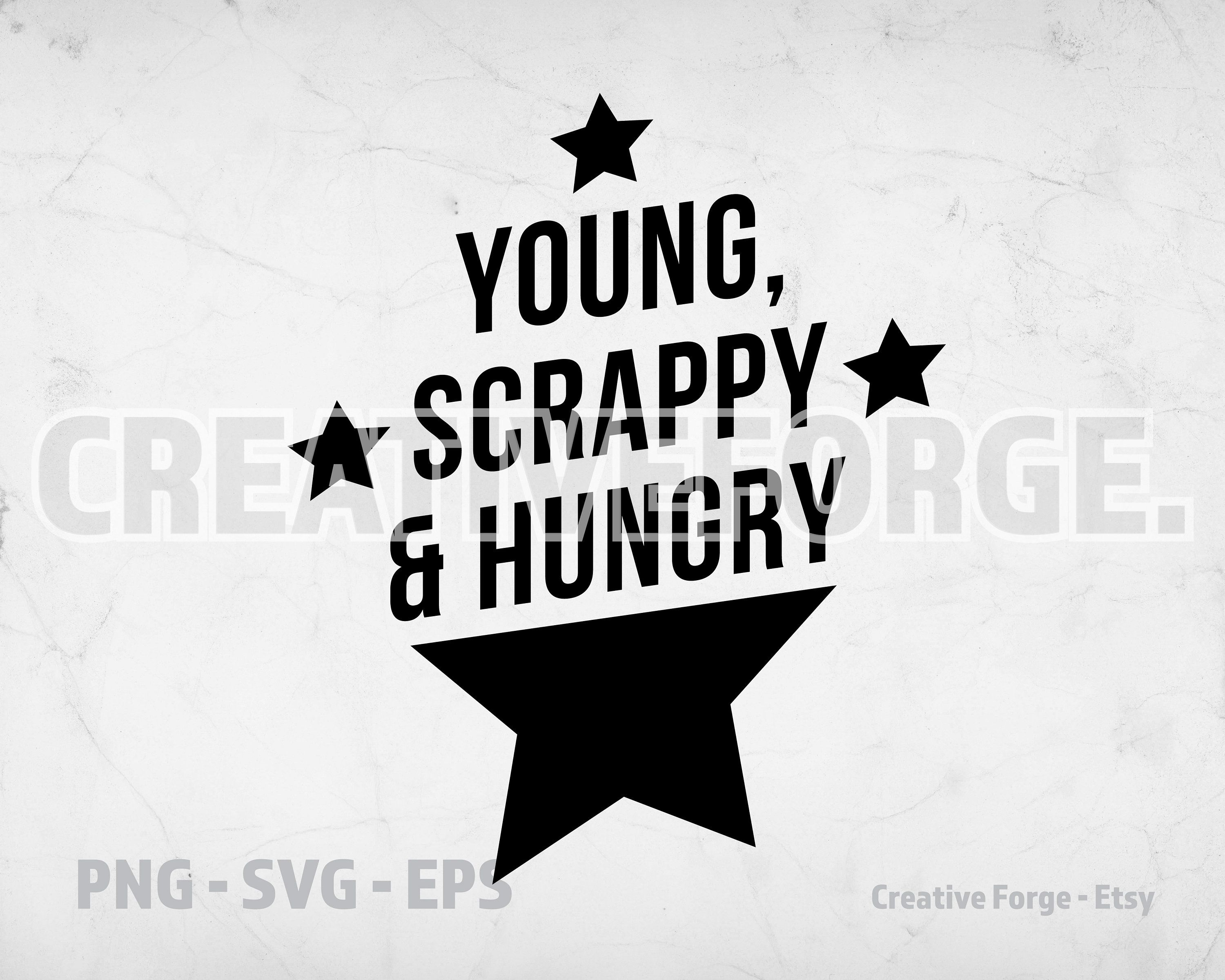 Hamilton Broadway Play Musical Young Scrappy Hungry My Shot Etsy Vector Quotes Hamilton Broadway Musicals