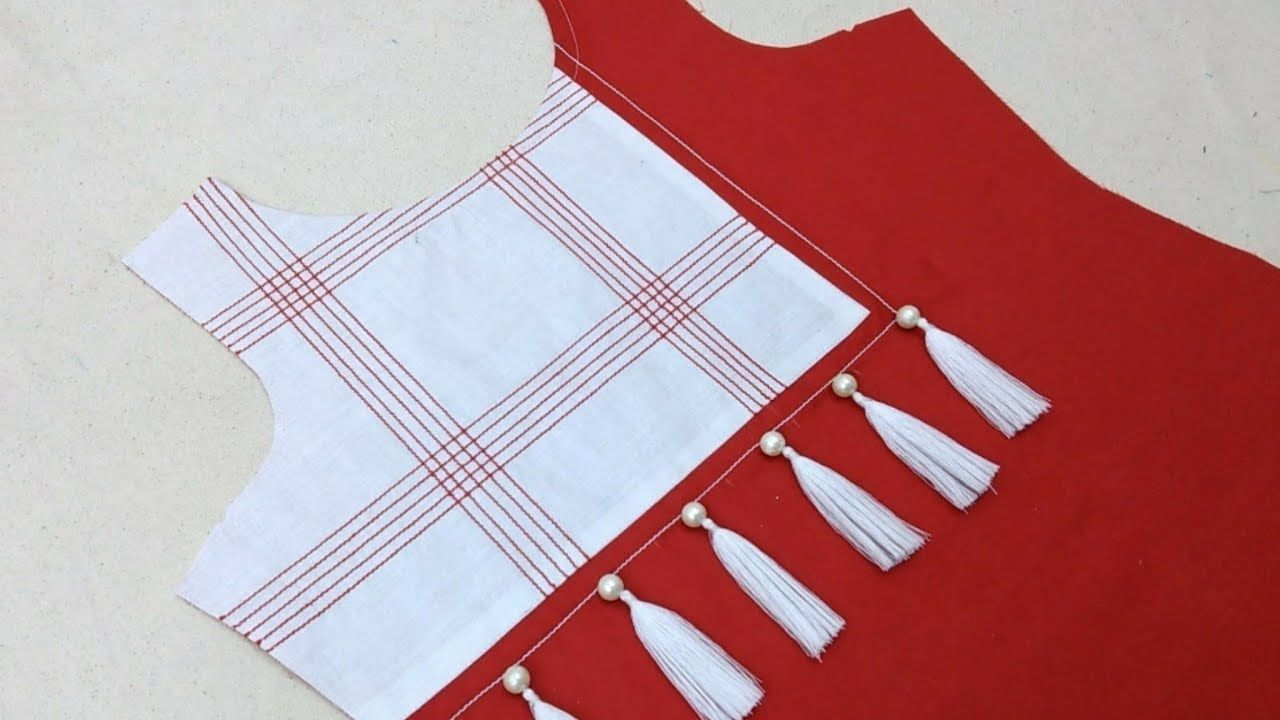 beautiful and creative neck design (easy method) cutting and stitching 5d3063207