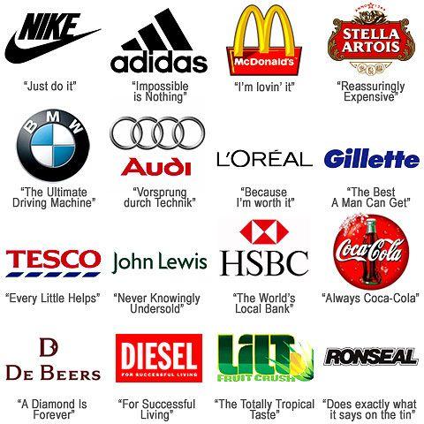 9 Companies With Memorable Taglines Brand Taglines Branding