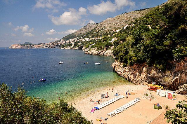 Dubrovnik St Jacob Beach Croatia Beach Croatia Holiday Croatia Vacation
