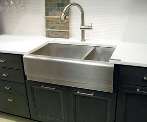 Elegant Stainless Steel Apron Front Sink By Tritan, Available At Carpet One Floor U0026  Home