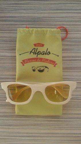 b6230daa08 Anteojos De Madera Alpalo - Hakin Amarillo | Alpalo Anteojos de ...