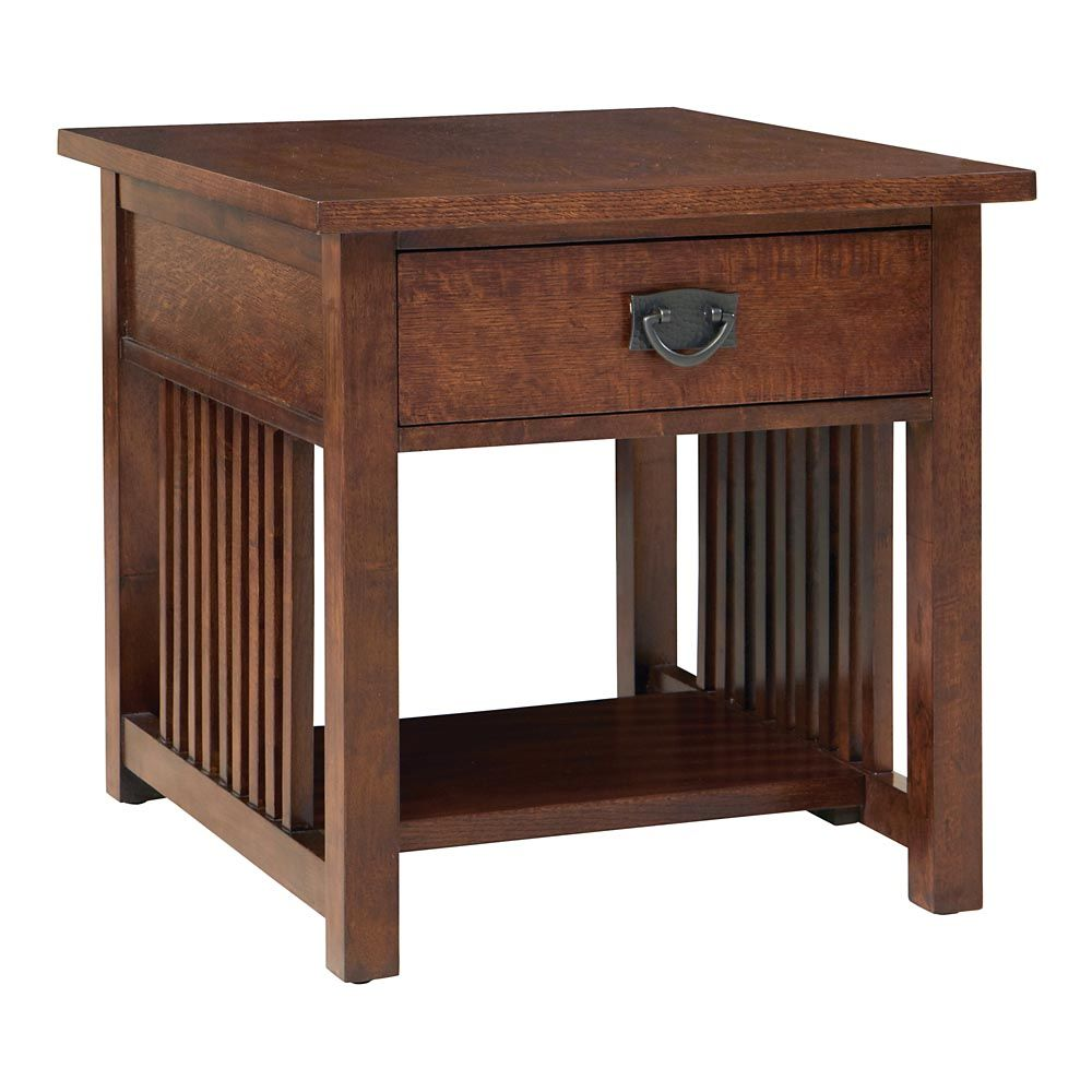 Grove Park End Table By Bassett Sale 499 Mission Craftsman