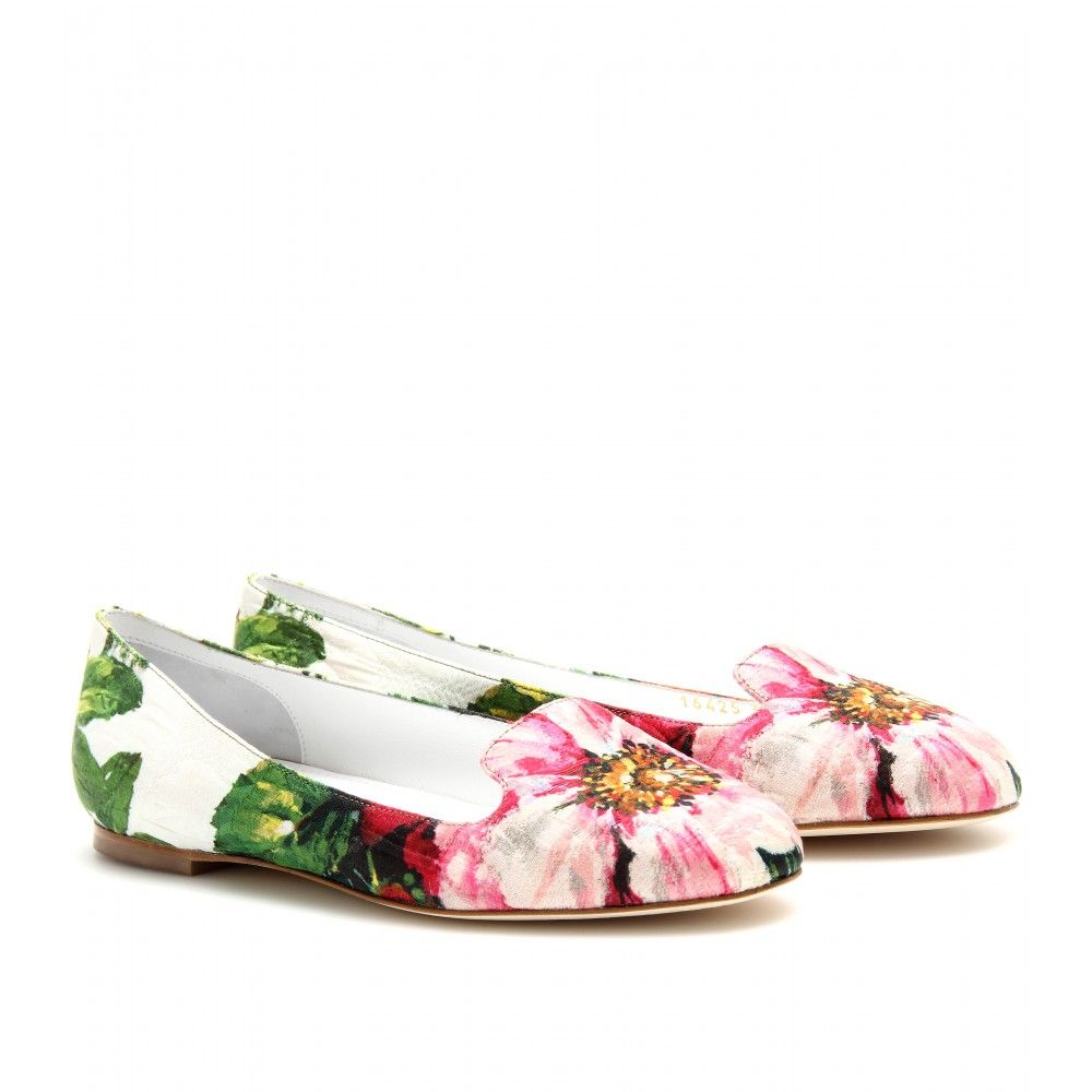 mytheresa.com - Dolce & Gabbana - WALLY SLIPPER-STYLE LOAFERS - Luxury Fashion for Women / Designer clothing, shoes, bags