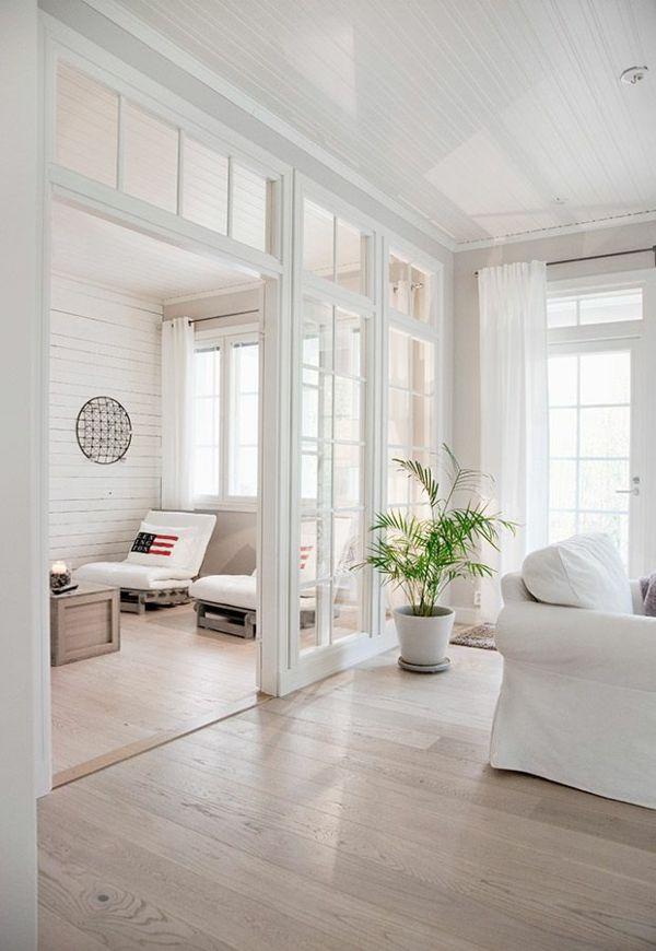 Trennwände innerhalb von großen Wohnzimmern - Raumteiler aus - moderne trennwande wohnzimmer