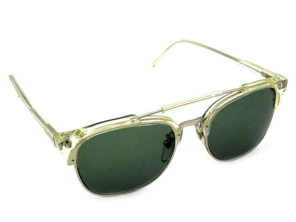 $319 MSRP 464 Super Sunglasses 49er Crystal RetroSuperFuture