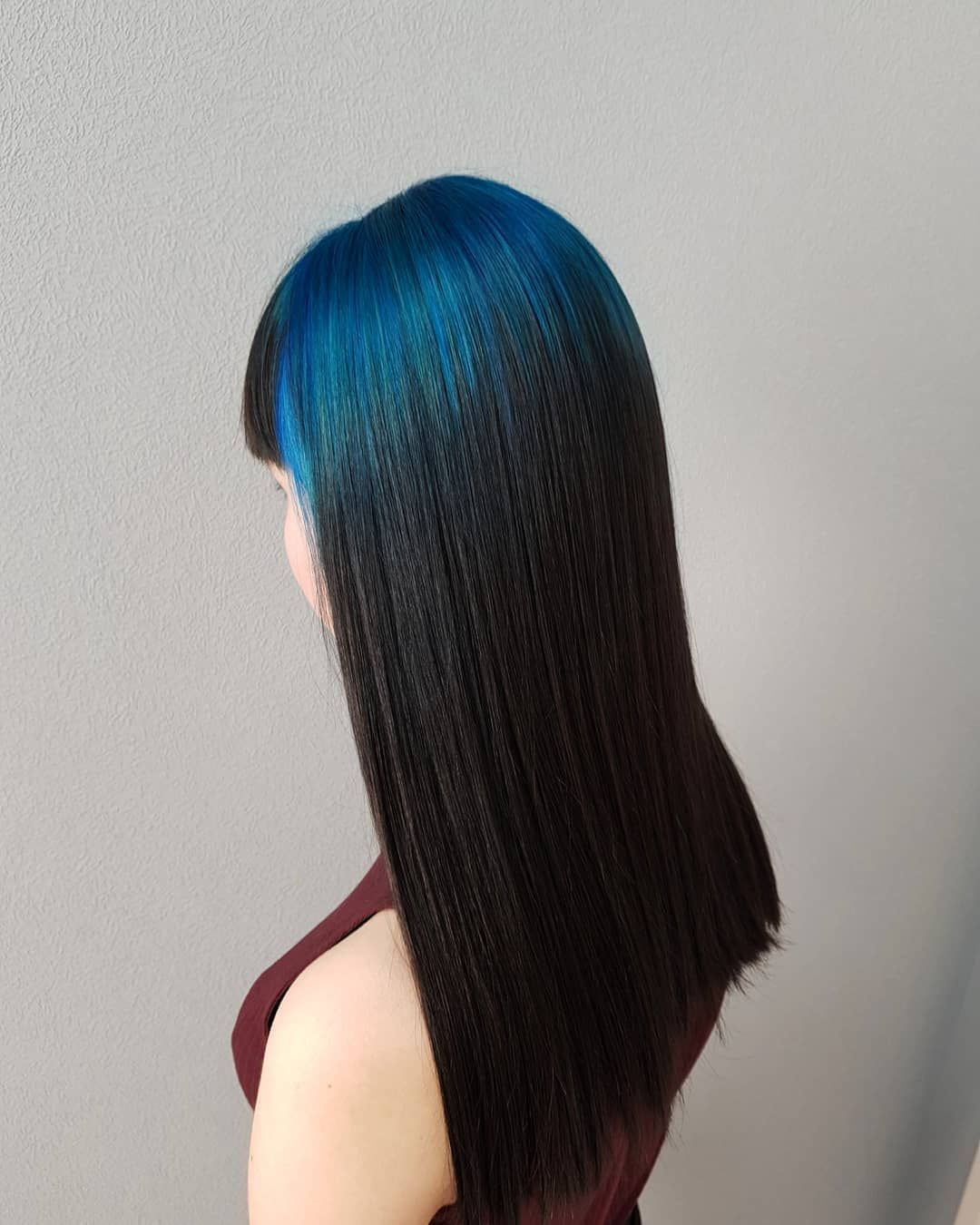 Loving This Cool Blue Root By Nanameuw Try Our Blue Velvet