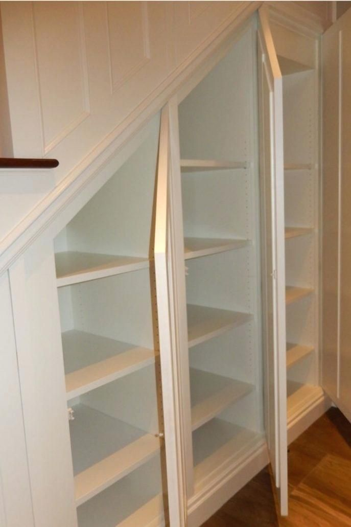Image Result For How To Build Under Stair Basement Storage Shelves