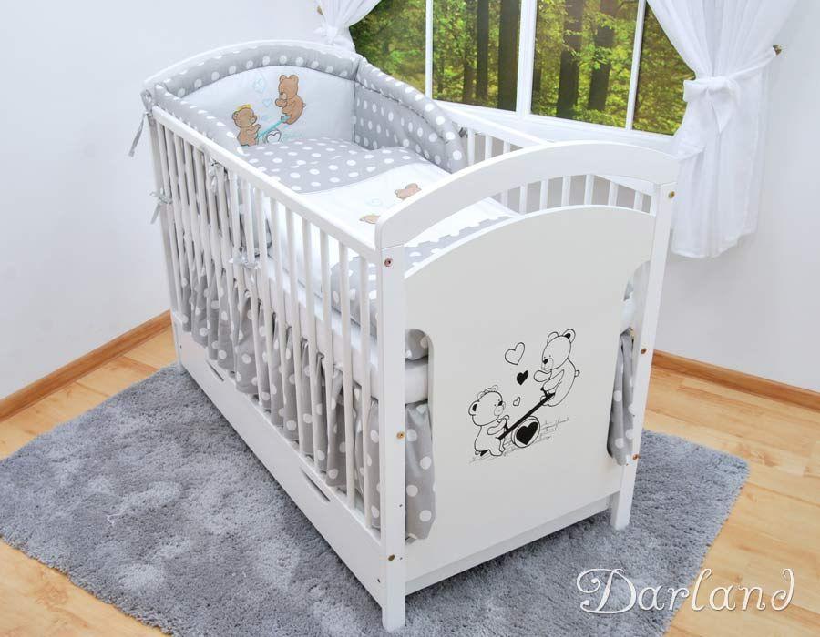 Lozeczko Dzieciece Kolory 9el Posciel Darland 5035806066 Oficjalne Archiwum Allegro Baby Room Cribs Room