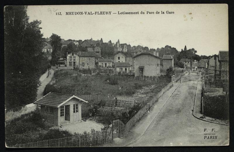 Meudon Val Fleury Lotissement Du Parc De La Gare A Meudon
