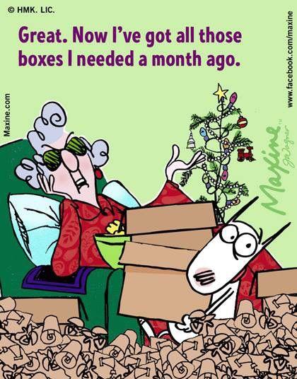 Day After Christmas Christmas Humor Maxine Christmas Quotes