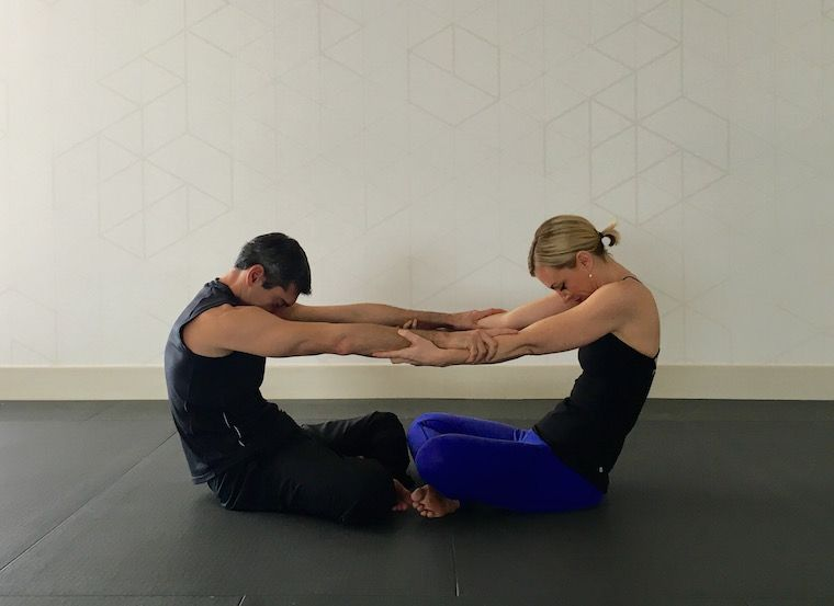 10 Partner Yoga Poses For A Strong And Flexible Relationship Partner Yoga Poses Couples Yoga Yoga Poses For Two