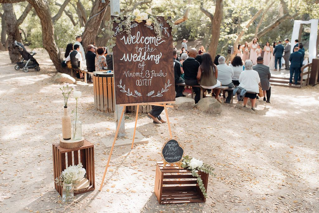 An Oak Canyon Nature Center Rustic Charm Wedding Rustic Charm