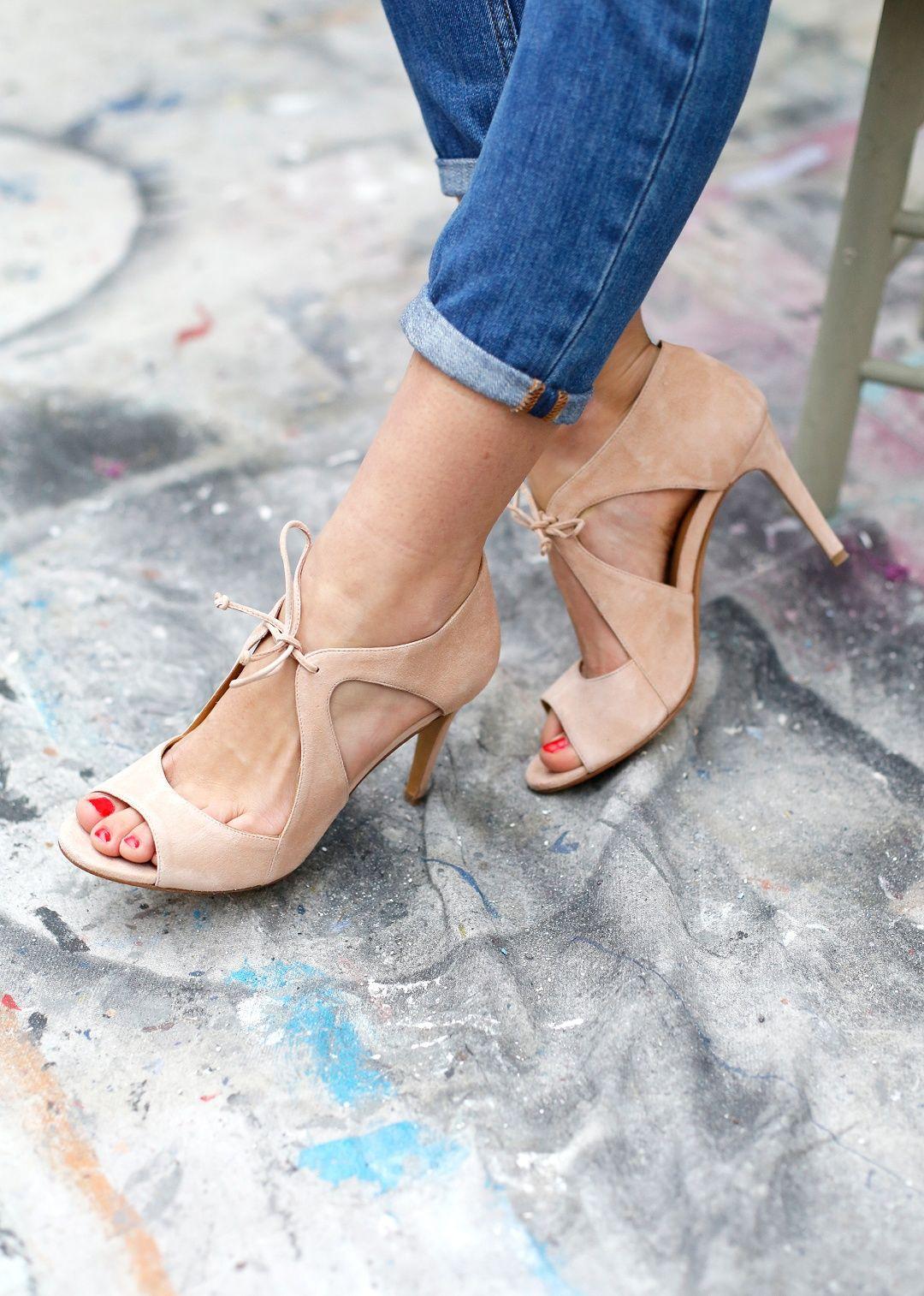 texture nette moins cher mode Sézane - Sandales Livio   Des chaussures   Chaussures ...