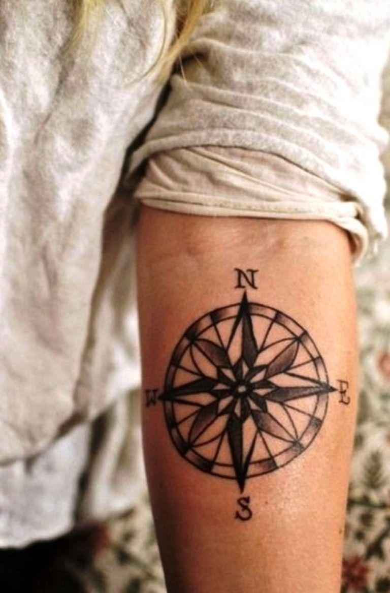 Best Compass Tattoo Designs
