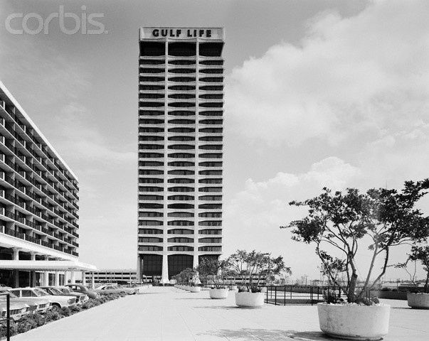 The Gulf Life Building 1965 67 Architect Welton Beckett With Images Jacksonville Hotels Jacksonville Florida Jacksonville Beach