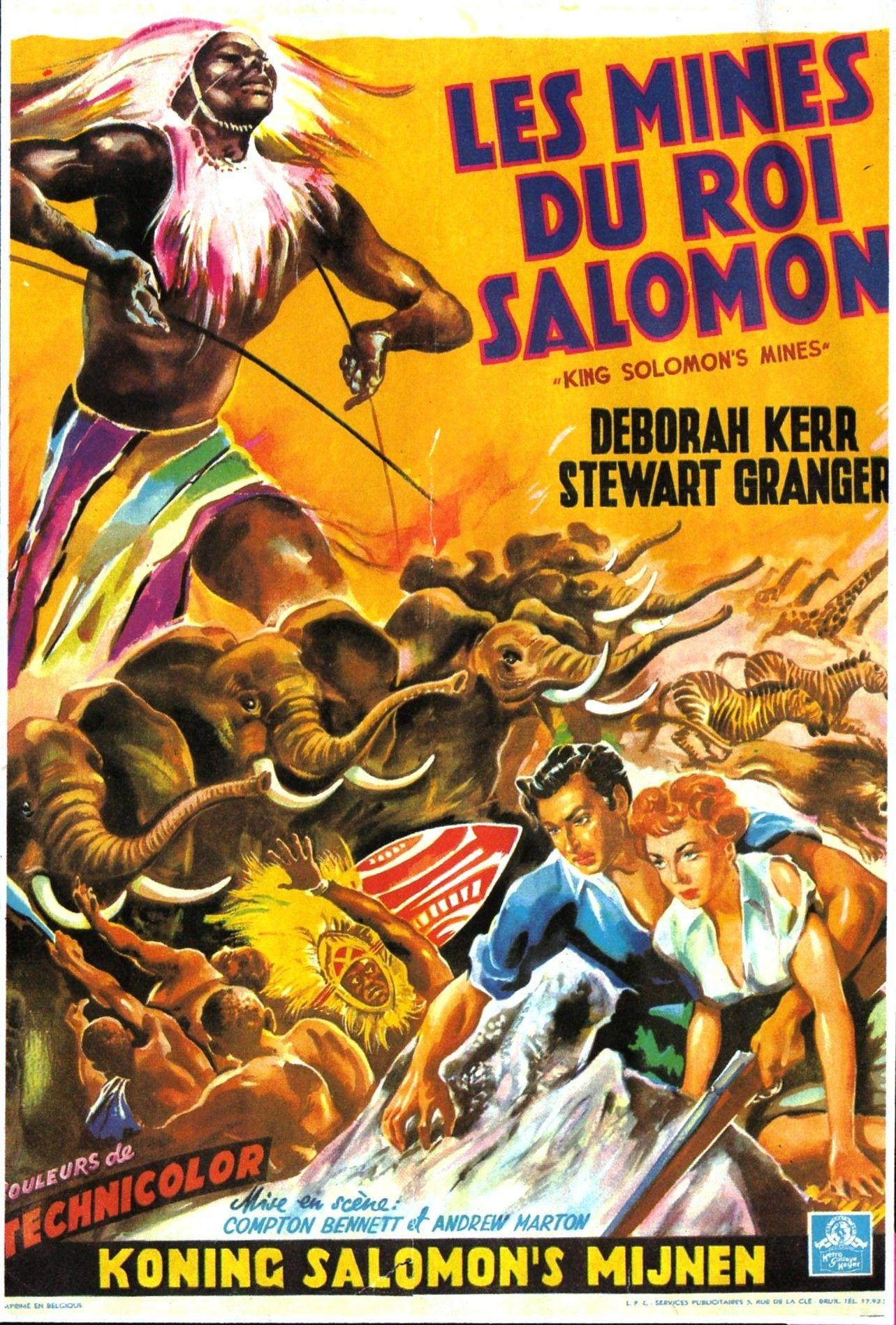 Les Mines Du Roi Salomon : mines, salomon, Mines, Salomon, Cinéma, Salomon,, Vieux, Films