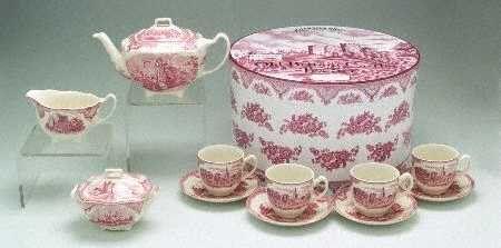 Johnson brothers old britain castles pink england 1883 - Johnson brothers vajilla ...