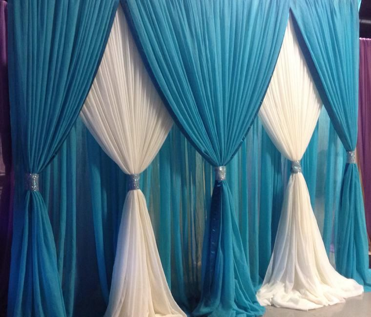 Used Wedding Backdrop Curtains: Pipe And Drape Backdrop …