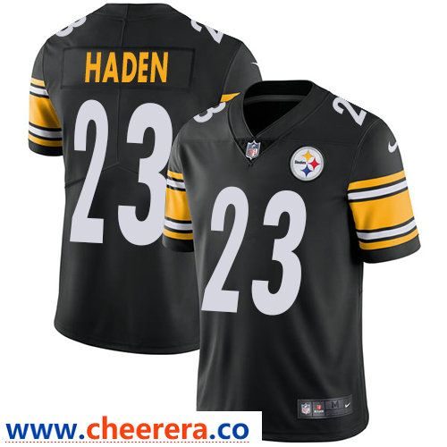 e53365ab5 Nike Pittsburgh Steelers  23 Joe Haden Black Team Color Men s Stitched NFL  Vapor Untouchable Limited Jersey