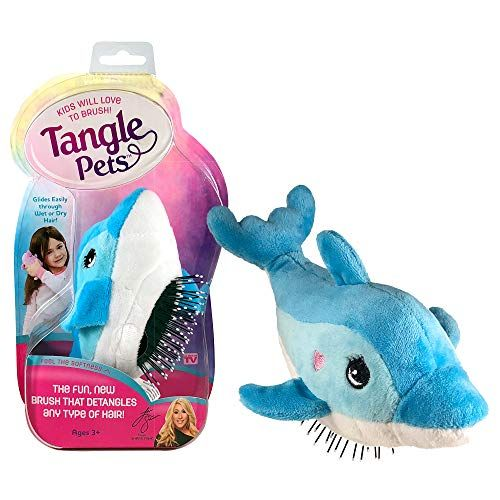 Tangle Pets FIN THE DOLPHIN The Detangling Brush in a