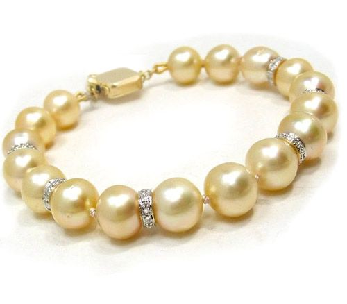 High Quality Tahitian Pearl Bracelet With Extensive Collection Of Black Golden And White South Sea At Prices