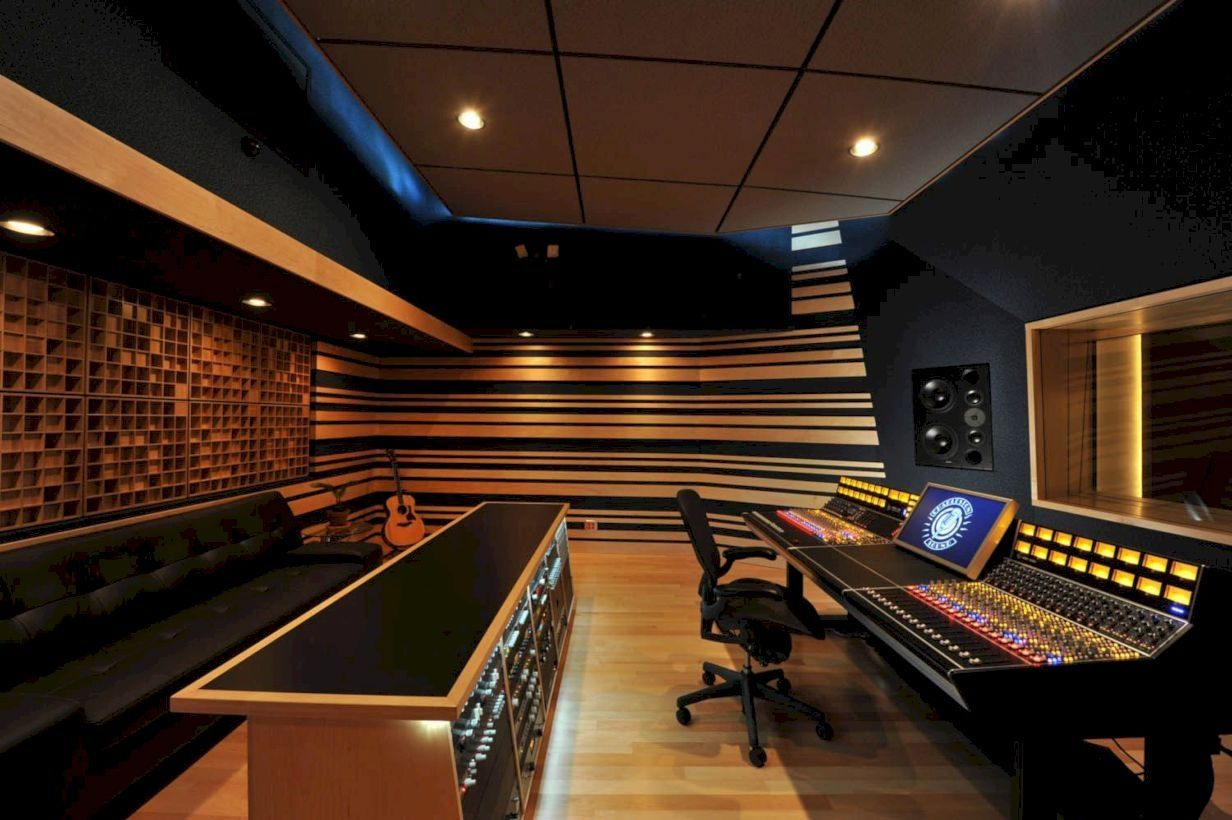 Cool awesome music studio room to relieve stress at home also decoration rh in pinterest