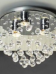 modernos 3 - Luces de luz montaje empotrado con cuentas de cristal