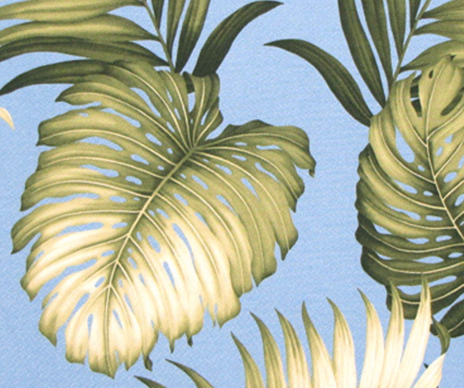 Tropical Hawaiian Upholstery, Monstera Palm Leaf, Tapestry Fabric, Furniture  Drapery Curtains, Quality