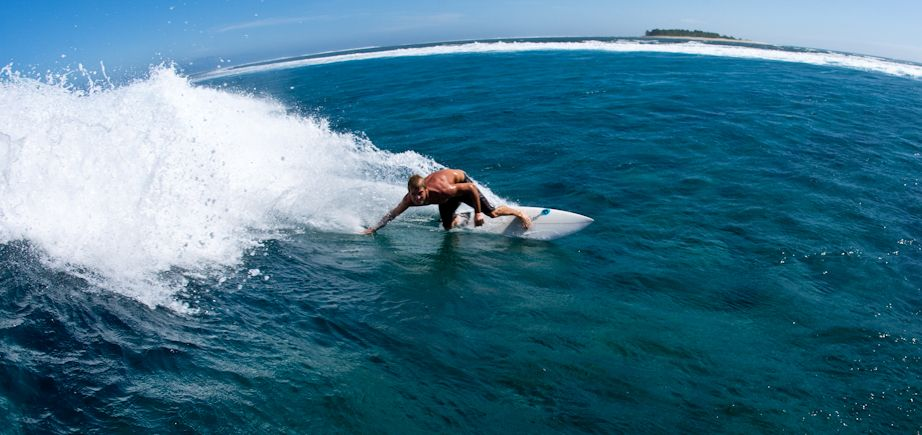 SURFING! Some of the worlds best waves - small, medium and BIG are found right here in FIJI. Famous surf locales include 'Cloudbreak' ... Come catch and slice world-class waves in a world-class holiday destination!   * Namotu Island Resort photo.   *View more in Explore Fiji: http://viewer.e-digitaleditions.com/t/18754