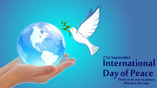 Wishing you all a Happy #InternationalDayofPeace!
