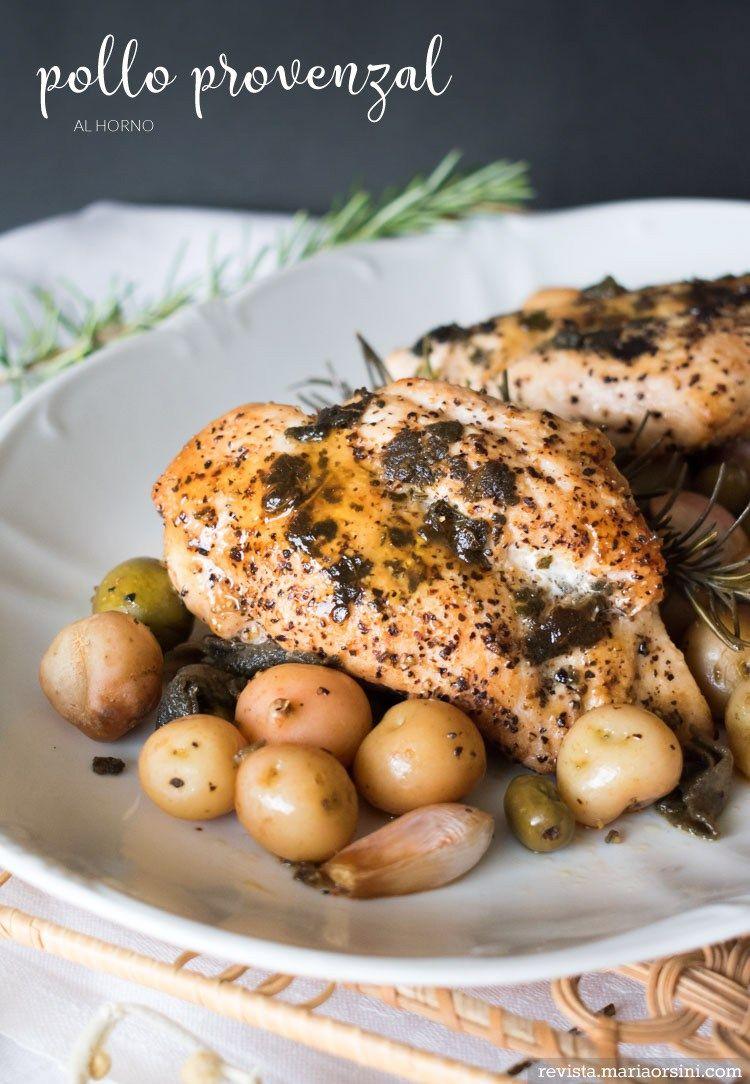 Provencal Chicken With Olives And Potatoes Quick And Easy 30 Minute Recipe Receta De Pollo Prov Pollo Pechuga De Pollo Al Horno Recetas Para Cocinar Pollo