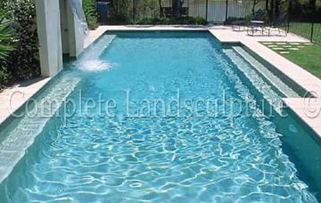 Elongated Rectangle Pool Custom Formal Pools Pinterest Best Rectangle Pool Ideas