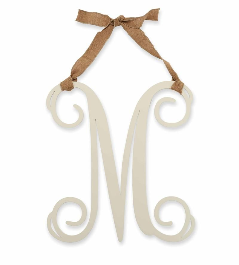 Mud Pie Wooden Initial Wall Hanger Quot M Quot 28 95 With
