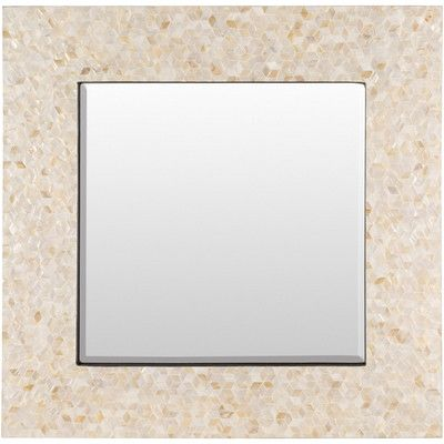 """Beachcrest Home Neponset Wall Mirror Size: 15.7"""" H x 15.7"""" W x 1.2"""" D"""
