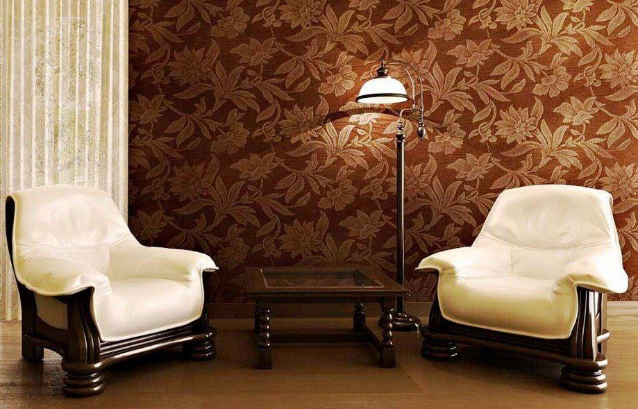 Wallpaper Dinding Ruang Tamu Minimalis Coklat Dekorasi Ruang Tamu Ide Dekorasi Rumah Dekor