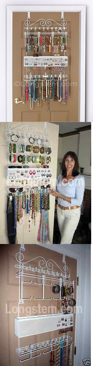 MultiPurpose 168165 Longstem 5100 Over The Door Jewelry Organizer
