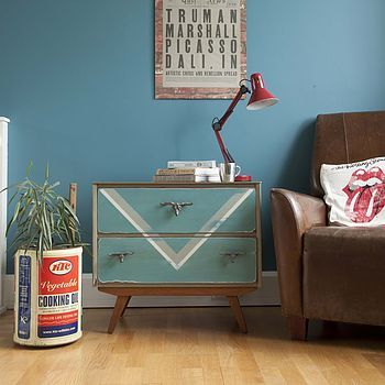 Upcycled 1950's Chest Of Drawers http://www.notonthehighstreet.com/daadbohome/product/upcycled-1950-s-chest-of-drawers