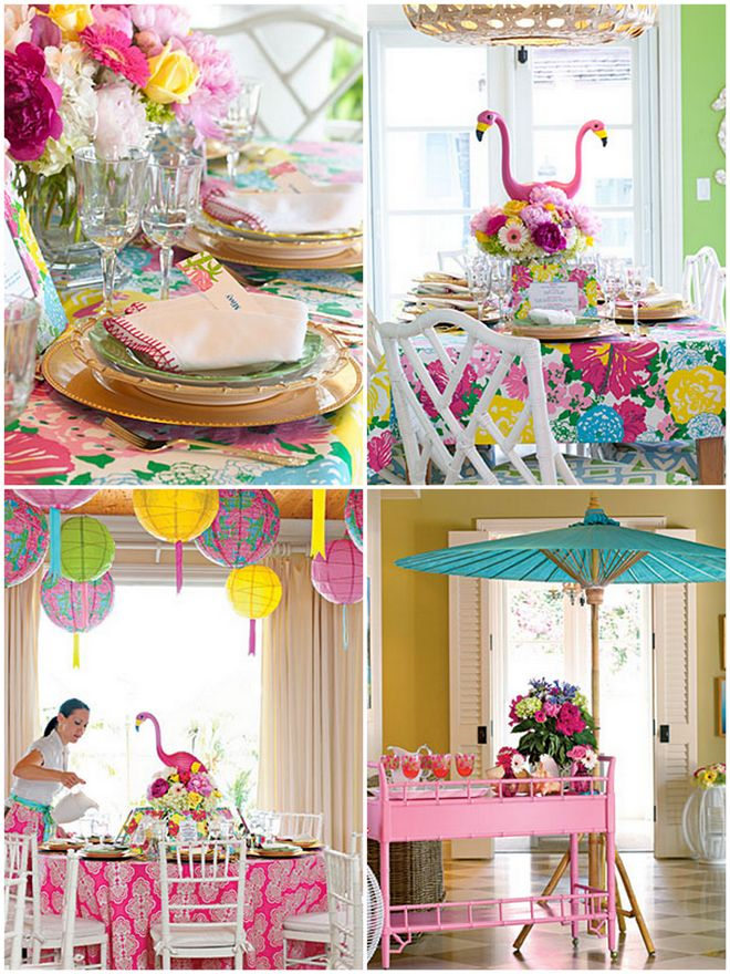 Lilly Pulitzer Inspired Party Ideas Fabulous Pinterest