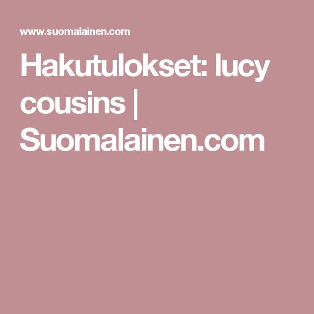 Hakutulokset: lucy cousins | Suomalainen.com