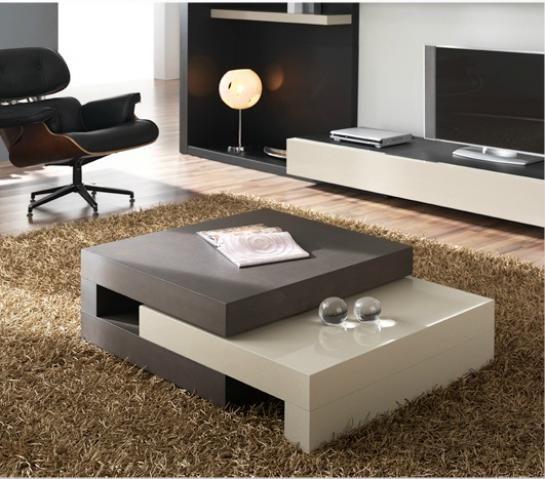 Mesas De Centro Blancas Modernas  Buscar Con Google  Decoración Brilliant Modern Center Table Designs For Living Room Design Inspiration