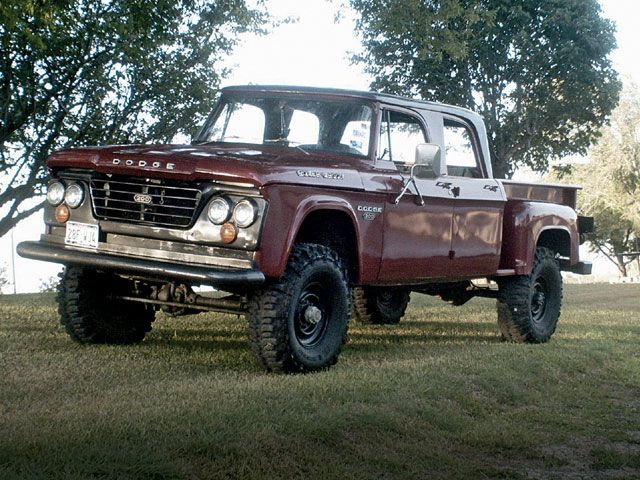 1960 S Dodge Stepside Pickups 4 Wheel Drive Wtb Help Me Find This