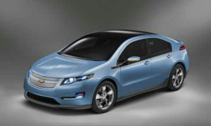 Chevrolet Volt Light Blue Chevrolet Volt Chevy Volt