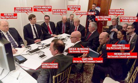 "PHOTO: White House Releases Pic of Trump's Mar-a-Lago ""War Room"""