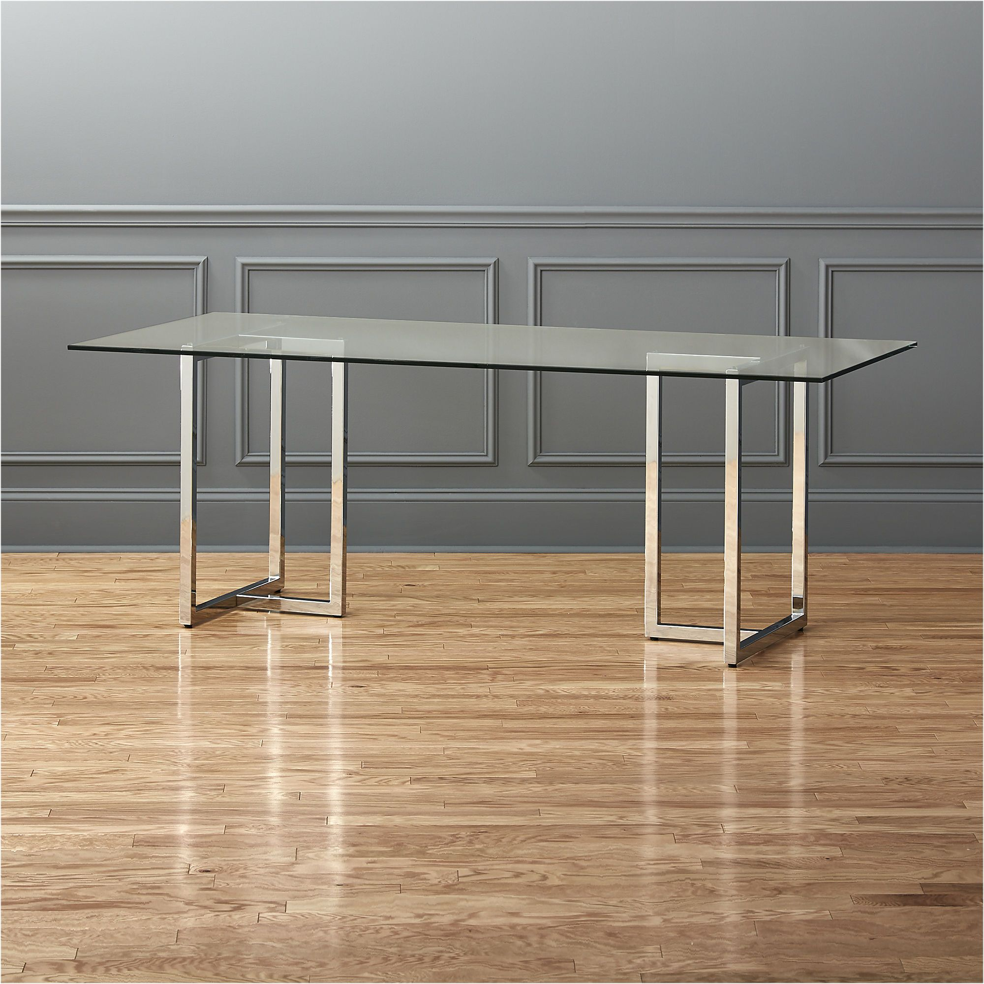 Silverado Chrome 47 Round Dining Table Dining Table Furniture
