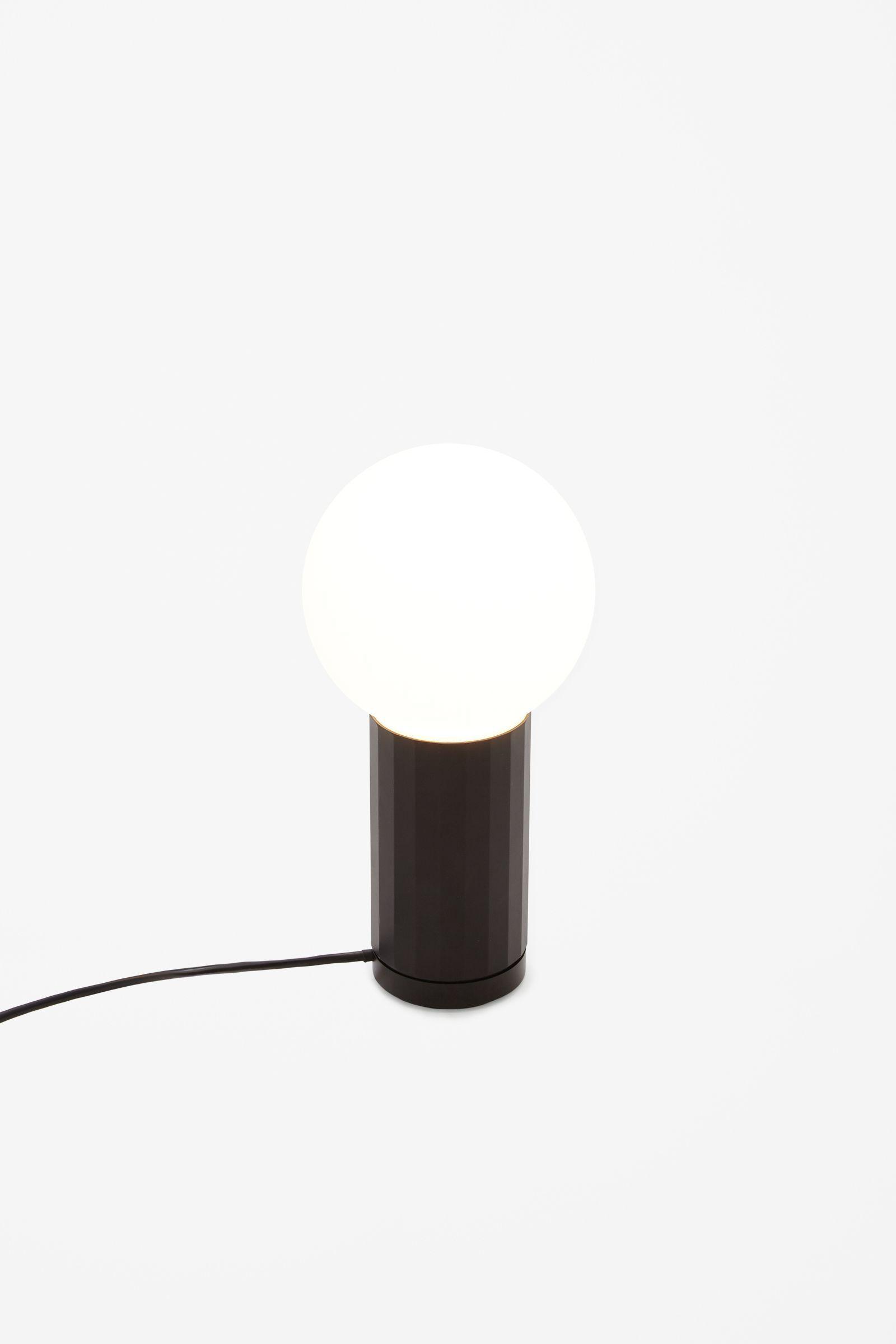Cool Hay Turn On Lamp in Black