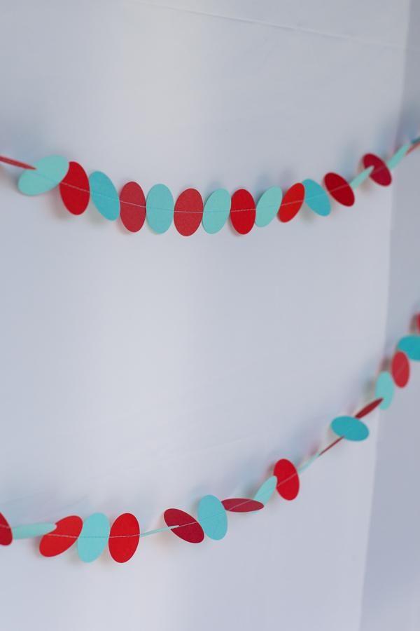 Un decorado ideal para una fiesta puntos / An ideal decoration for a polka-dot party