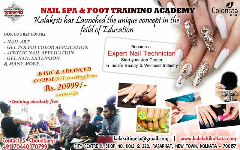 Kalakriti S Nail And Foot Spa Course Kit Ad Banner Nail Spa Beauty Wellness Gel Nail Extensions